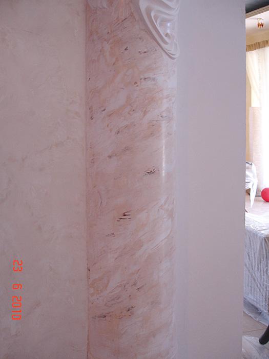 Венецианская штукатурка своими руками под мрамор